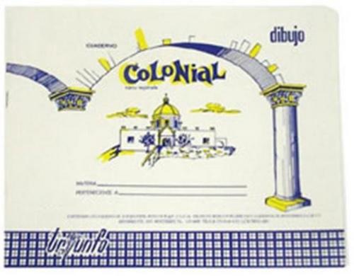 2cc797901 Cuaderno Colonial Dibujo 40 Hjs